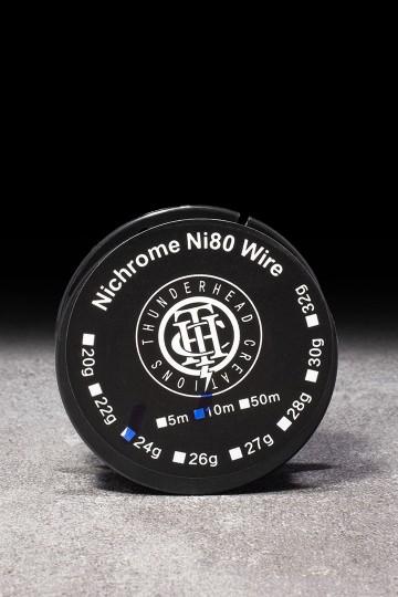 NI80 Wire 24ga THUNDERHEAD - ICI ET VAP
