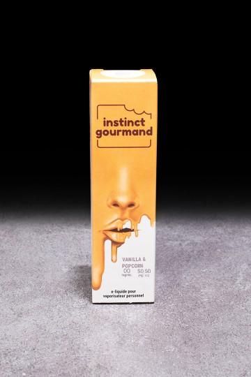 E-liquide Vanilla & Popcorn 10ml ALFALIQUID - ICI ET VAP