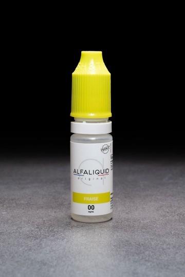 E-liquide Fraise ALFALIQUID - ICI ET VAP
