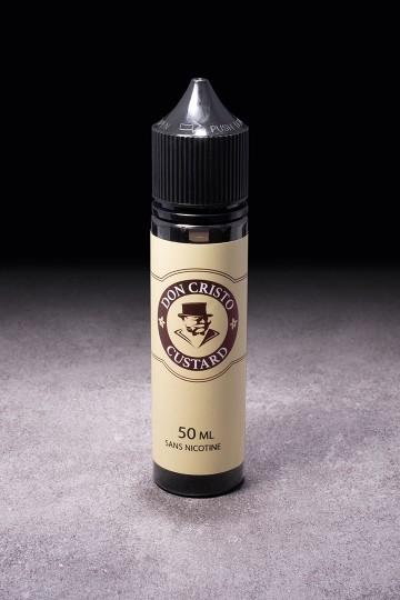 E-liquide Don Cristo Custard 50ml PGVG Labs - ICI ET VAP
