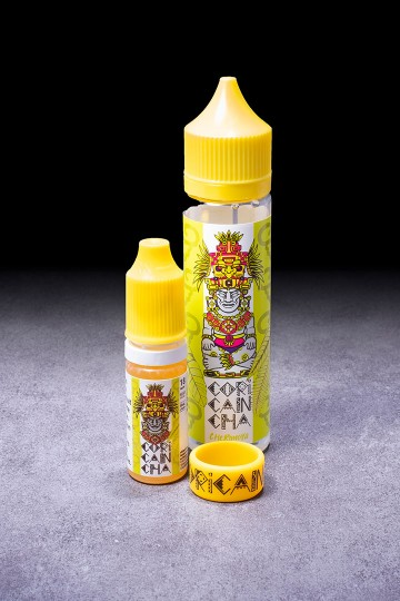 E-liquide Cherimoya Grand Format ALFALIQUID CORICANCHA - ICI ET VAP