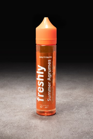 E-liquide Summer Agrumes 50ml Freshly BOBBLE - ICI ET VAP