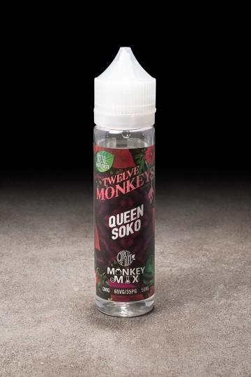 E-liquide Queen Soko 50ml TWELVE MONKEYS - ICI ET VAP