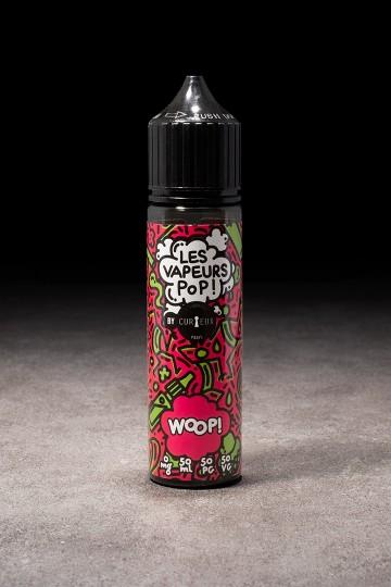 E-liquide Woop! 50ml LES VAPEURS POP CURIEUX - ICI ET VAP