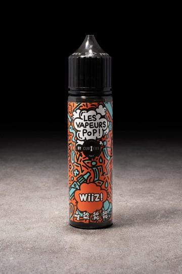 E-liquide Wiiz! 50ml LES VAPEURS POP CURIEUX - ICI ET VAP