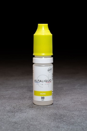 E-liquide Mûre ALFALIQUID - ICI ET VAP
