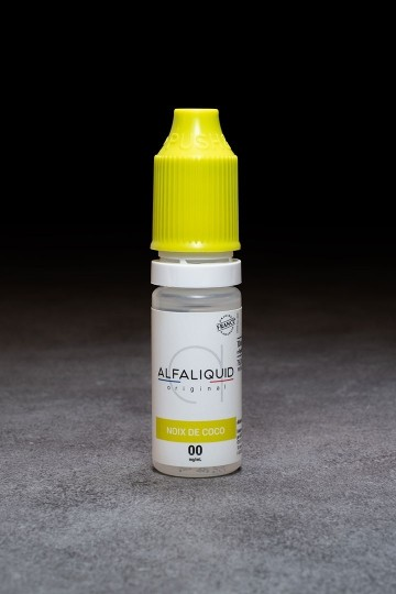 E-liquide Noix De Coco ALFALIQUID - ICI ET VAP