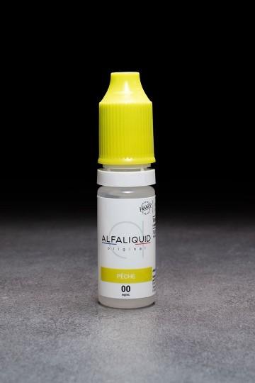 E-liquide Pêche ALFALIQUID - ICI ET VAP